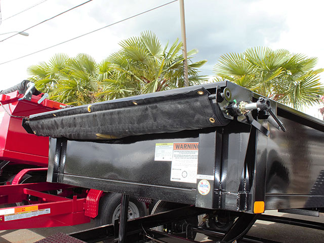 6617.D. 2021 Liberty 6 ft. x 12 ft. dump trailer from Town and Country Truck and Trailer Sales, Kent (Seattle), WA.