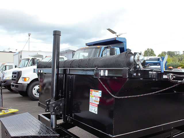 6621.D. 2021 Texas Pride 7 ft. x 14 ft. dump trailer from Town and Country Truck and Trailer Sales, Kent (Seattle), WA.
