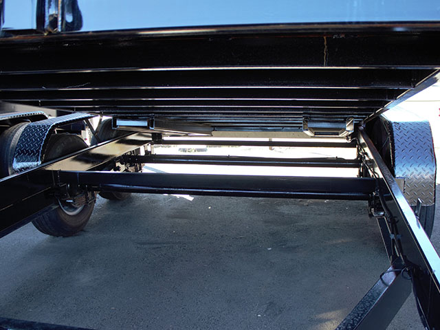 6578.B. 2021 Liberty 7 ft. x 14 ft. x 48 inch tall-sided dump trailer from Town and Country Truck and Trailer Sales, Kent (Seattle), WA.