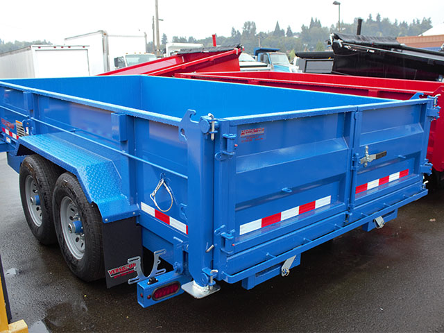6649.C. 2021 Versadump HV-14 dump trailer from Town and Country Truck and Trailer Sales, Kent (Seattle), WA.