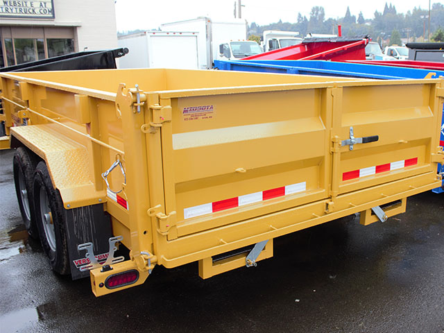 6650.C. 2021 Versadump HV-14 dump trailer from Town and Country Truck and Trailer Sales, Kent (Seattle), WA.