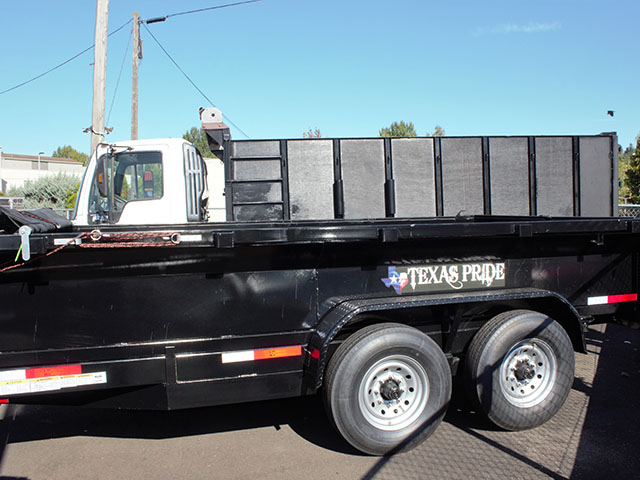 6661.B. 2021 Texas Pride 7 ft. x12 ft. dump trailer from Town and Country Truck and Trailer Sales, Kent (Seattle), WA.
