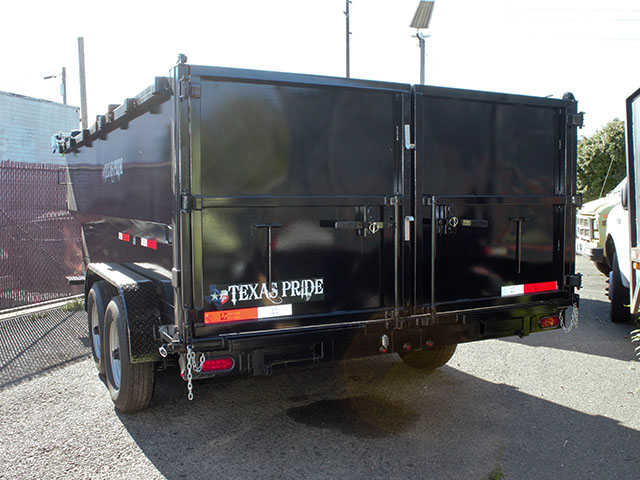 6666.B. 2021 Texas Pride 7 ft. x16 ft. dump trailer from Town and Country Truck and Trailer Sales, Kent (Seattle), WA.