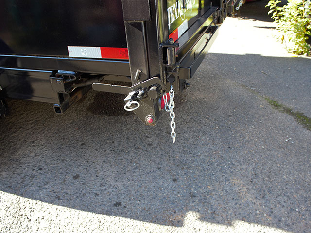 6666.D. 2021 Texas Pride 7 ft. x16 ft. dump trailer from Town and Country Truck and Trailer Sales, Kent (Seattle), WA.